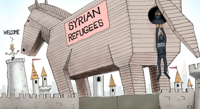 Syrian Trojan Horse, ISIS