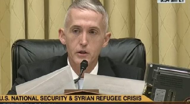 Trey Gowdy, CSPAN, Video Still