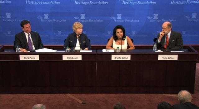 Brigitte Gabriel, Heritage Foundation, Video Still