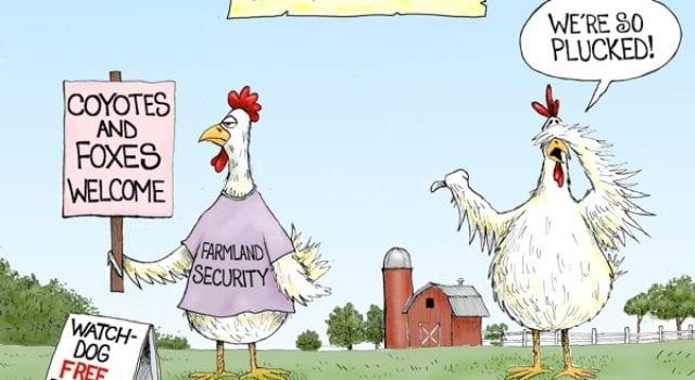 Farm Land Security, Homeland security, Obama administration