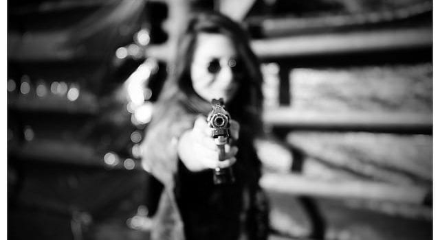 Gun, Girl, Woman