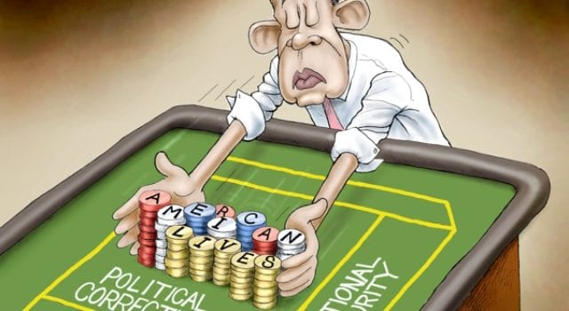 Obama Gambles With American Lives