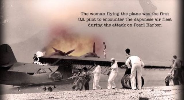 Pearl Harbor, USAF, Pilot, Cornelia Clark Fort, video still