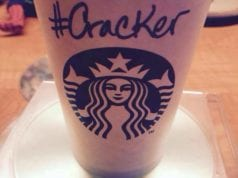 Starbucks, Cracker, Race Together, Race Card