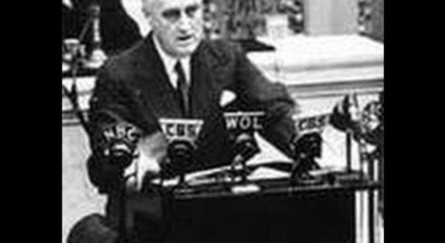 Franklin Roosevelt, FDR, Pearl Harbor, video still