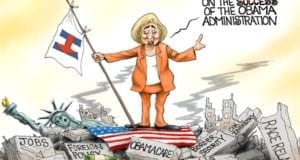Hillary Clinton, Building On Obama's Mess