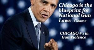Obama, Chicago Is The Blueprint For National Gun Laws