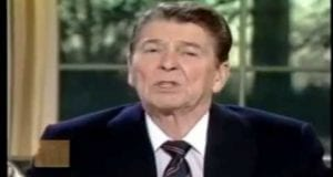 Remembering the Space Shuttle Challenger, Ronald Reagan, video still