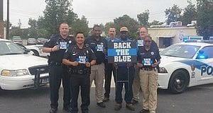 Albany GA, Police, Cops, Back the Blue