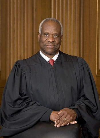 Justice Thomas AGAIN disappointed by court case rejection