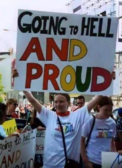 Going To Hell And Proud