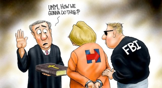 Hillary Clinton, Inauguration Day In Prison Orange