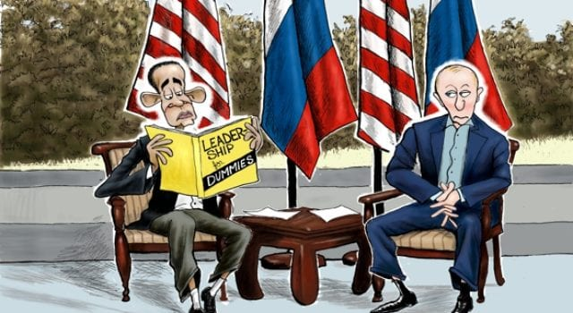 Obama, Syria, Putin, Leadership For Dummies
