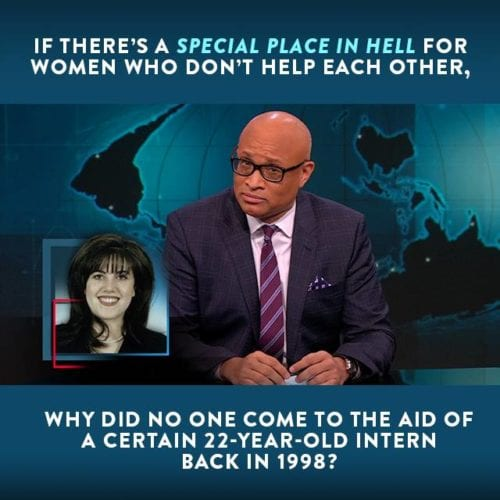 Special Place For Hillary, Monica