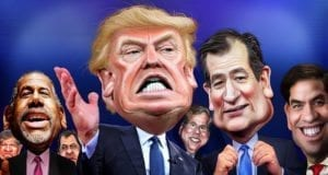 Donald Trump, Ted Cruz, Marco Rubio, GOP Candidates 2016