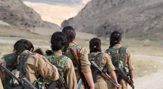 Yazidi Women Fighters, Army