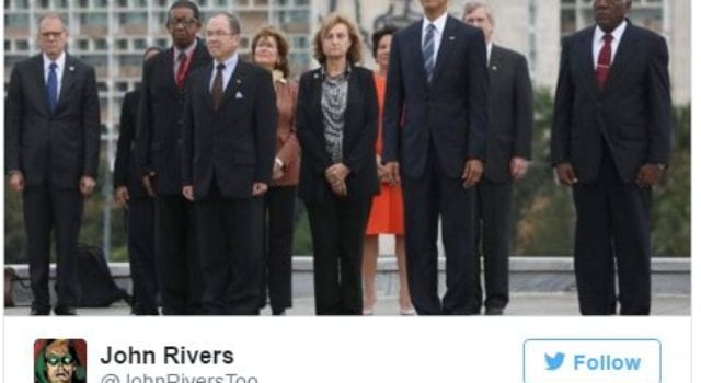 Fundamentally Transformed, President Obama, Cuba, Che Guevara, via Twitter John Rivers