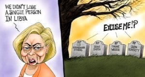 Hillary Clinton Forgets Lybia Losses, Benghazi