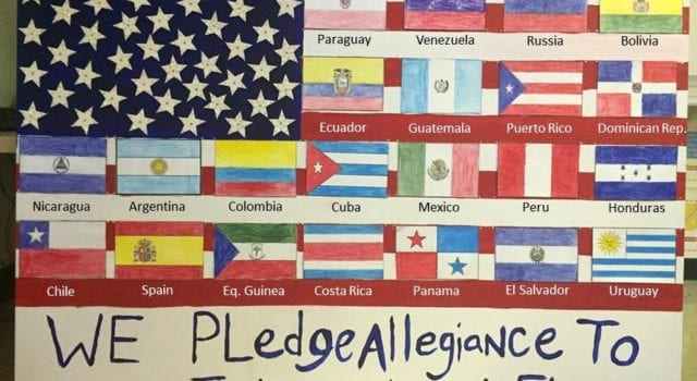 International Flag, Pledge