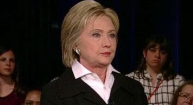 Hillary Clinton, Townhall, Brett Baier, Video Still