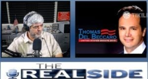 Joe Messina, The Real Side Radio Show, with Tom del Beccaro for US Senate