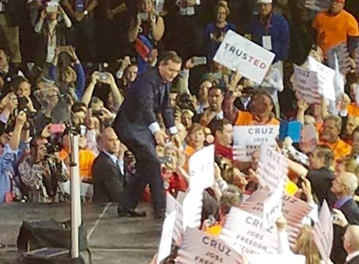 2016 Colorado Republican Convention, Ted Cruz