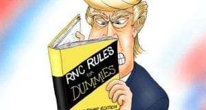 Donald Trump, RNC, Rules for Dummies, Republican