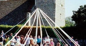 Maypole Dancing, May Day