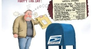 Tax Day, Government waste