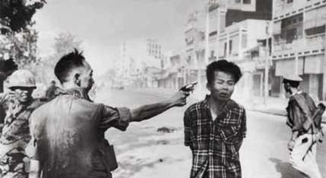 Saigon Execution By Eddie Adams, Vietnam