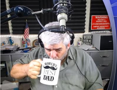 Joe Messina, The Real Side, BIG coffee mug!