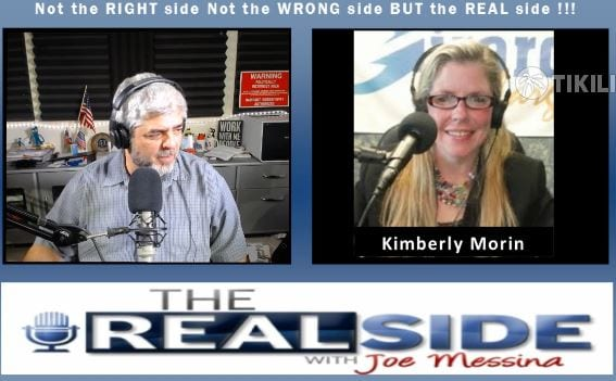 Joe Messina, The Real Side Radio Show, with Kimberly Morin
