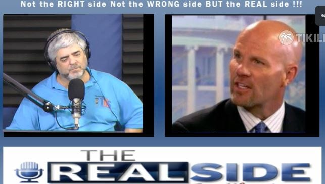 Joe Messina, The Real Side Radio Show, with Michael Hausam