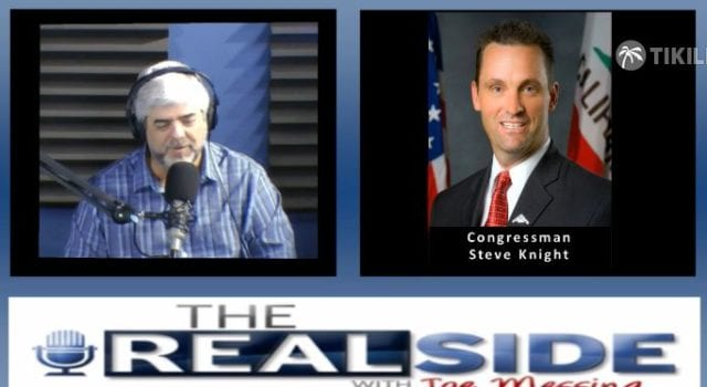 Joe Messina, The Real Side Radio Show, with Steve Knight