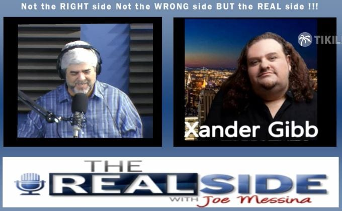 Joe Messina, The Real Side Radio Show, with Xander Gibb