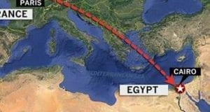 Egypt Airplane Crash Flight Path
