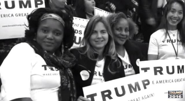 Trump Supporters, Black Female, Executive, Lynn Patton, Video Still