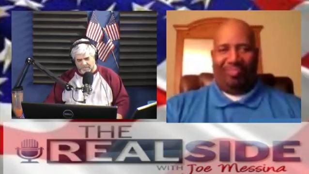 Joe Messina, The Real Side Radio Show, with Corey Prez Duncan