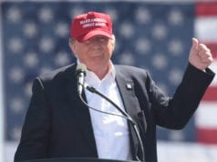 Donald Trump, Thumbs Up, No tie casual suit, Red hat, Make America Great Again, MAGA
