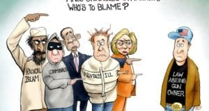 Mass Shooting Blame, Obama, Hillary Clinton