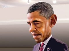 Barack Obama, Caricature
