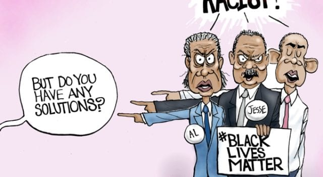 Racism, Solutions, BlackLivesMatter, Al Sharpton, Jesse Jackson, Obama