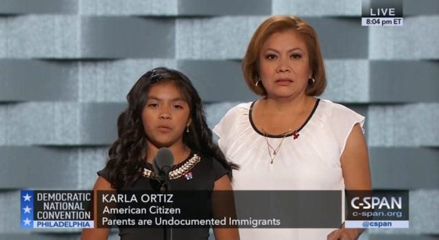 Mother and daughter speaking out at DNC