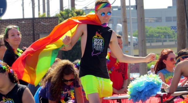 Gay pride, college students