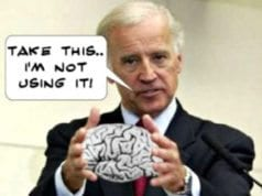 Joe Biden, Brain