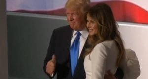 Donald and Melania Trump, RNC, video still