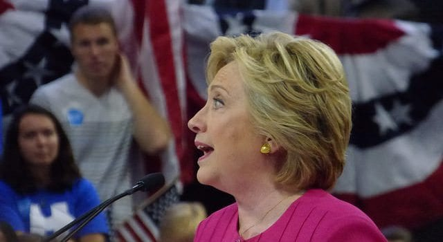 Hillary Clinton, Sideview