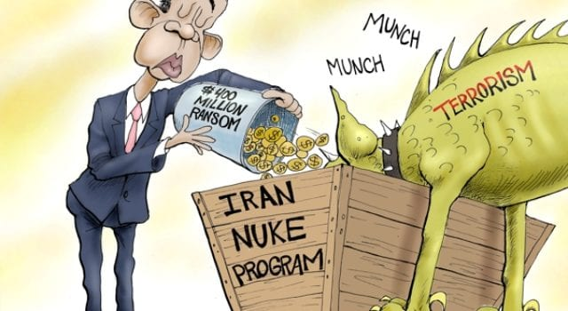 Iran Deal, Cash, Obama Funds Terrorism