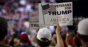 Veterans For Trump, Sign