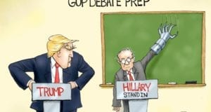 Donald Trump, GOP, Debate prep